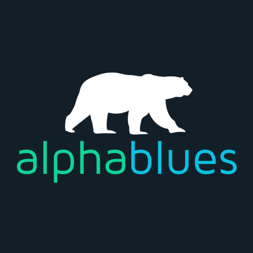 AlphaBlues logo