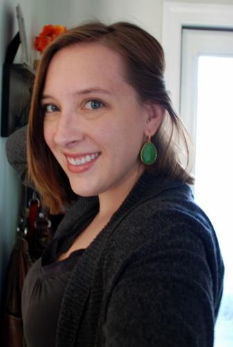 stella dot emerald earrings