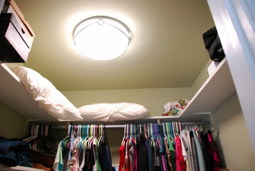 Closet Light Fixtures