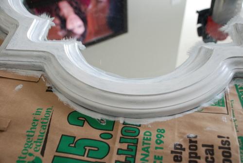 allen roth quatrefoil mirror