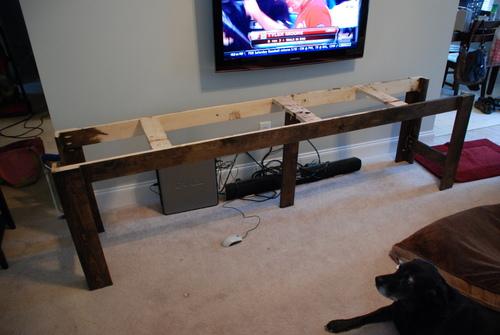 console table base diy