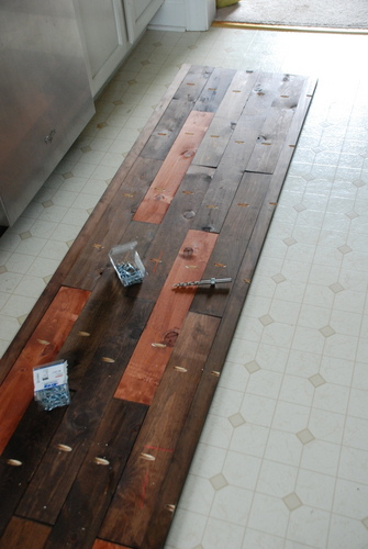 diy rustic console table top kreg jig