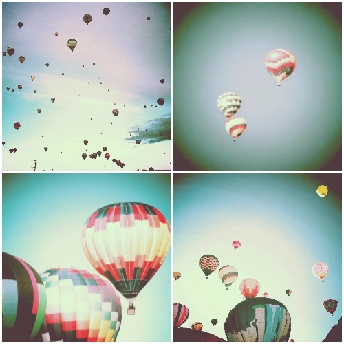 instagram filter hot air balloons