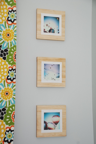 pinterest challenge wood block mounted pictures