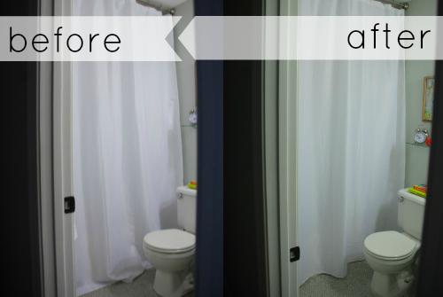 hemming hemmed shower curtain
