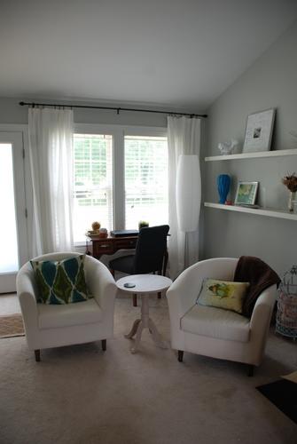 IKEA Tullsta's and Threshold Brookline Tufted Dining Chair   www.livelygreendoor.com