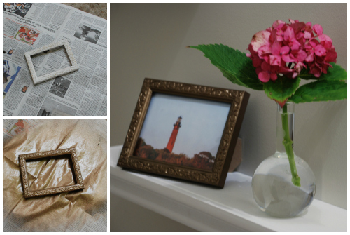 Need art? Frame a magazine photo! | www.livelygreendoor.com