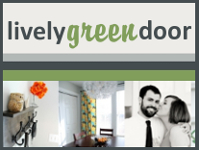 lively green door home improvement diy blog