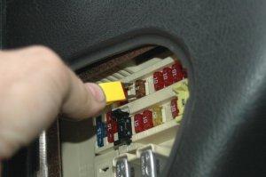 DIY change a fuse