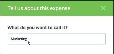 entering expenses palo alto software