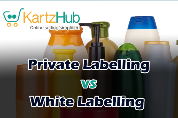 private label and white label