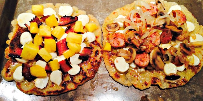 Gluten Free Personal Pizzas