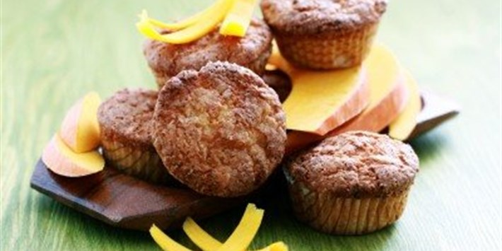 Pumpkin Cupcakes with Cinnamon Icing