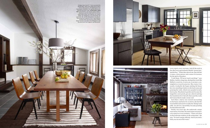 True management news elle decor amy mellen of calvin for Amy bradford elle decoration