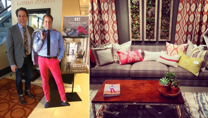 Thom Filicia thom filicia - news - eastern accents pillow & throw launch book