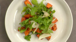 Thumbnail sweet potato arugula salad plating7