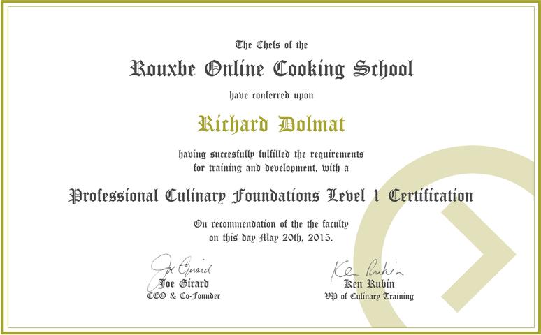 Online Video Cooking School