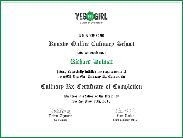 Hd854 certificate partners veg stl girl