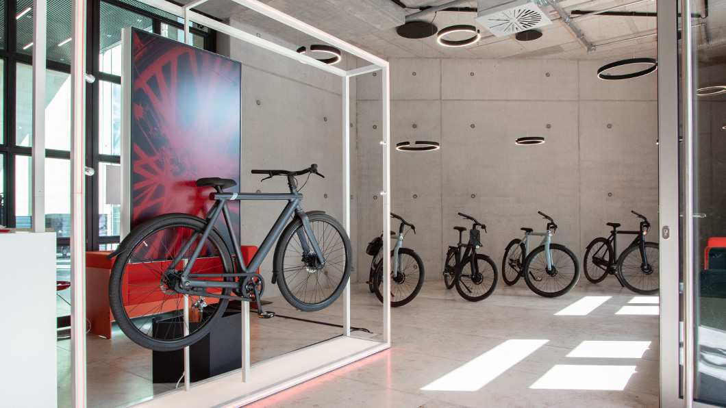 VanMoof Pop-up Store Münster