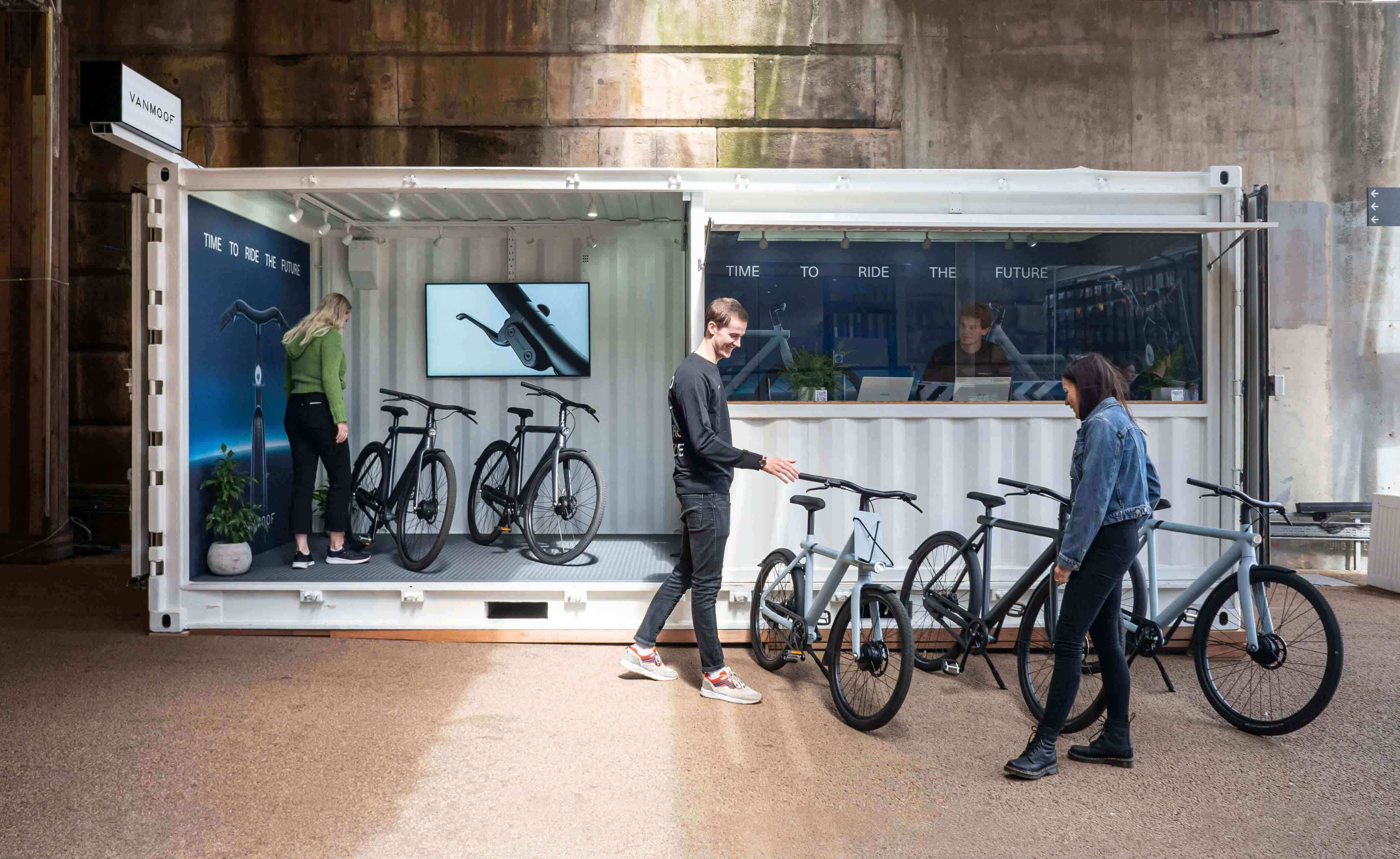 VanMoof Pop-up Store London Shoreditch