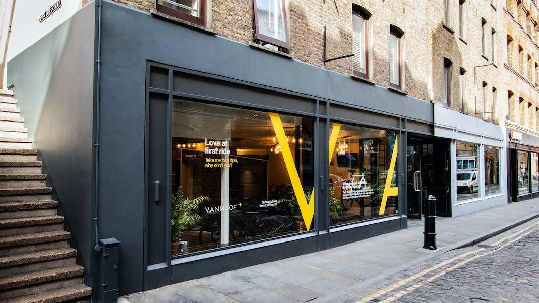 VanMoof Pop-up Store Antwerp
