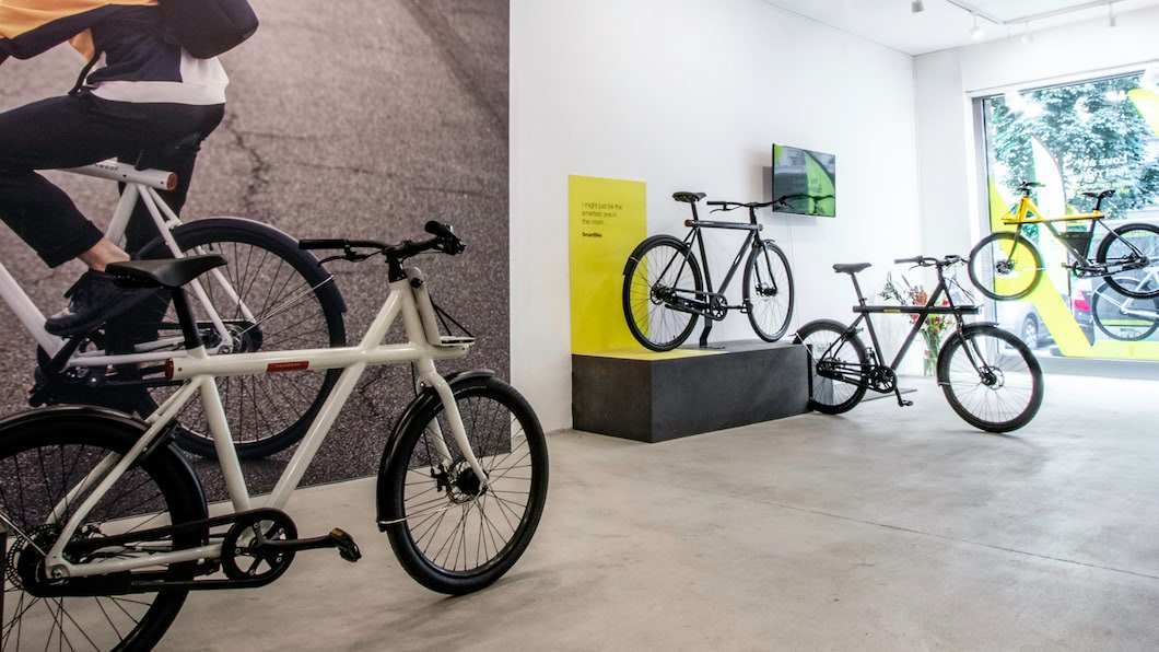 VanMoof Pop-up Store Bremen