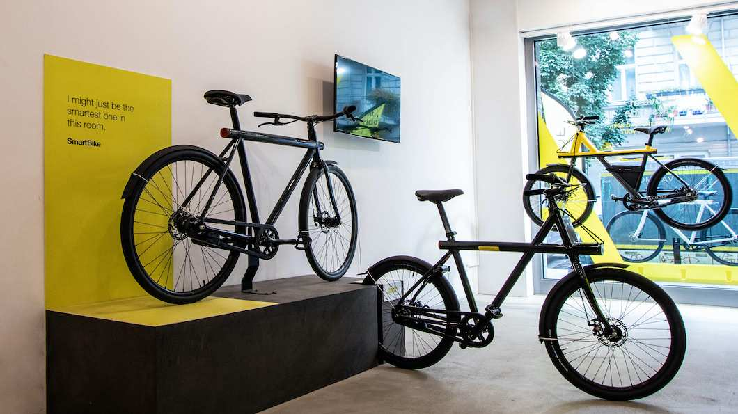 VanMoof Pop-up Store Cologne