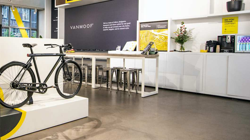 VanMoof Pop-up Store Stockholm