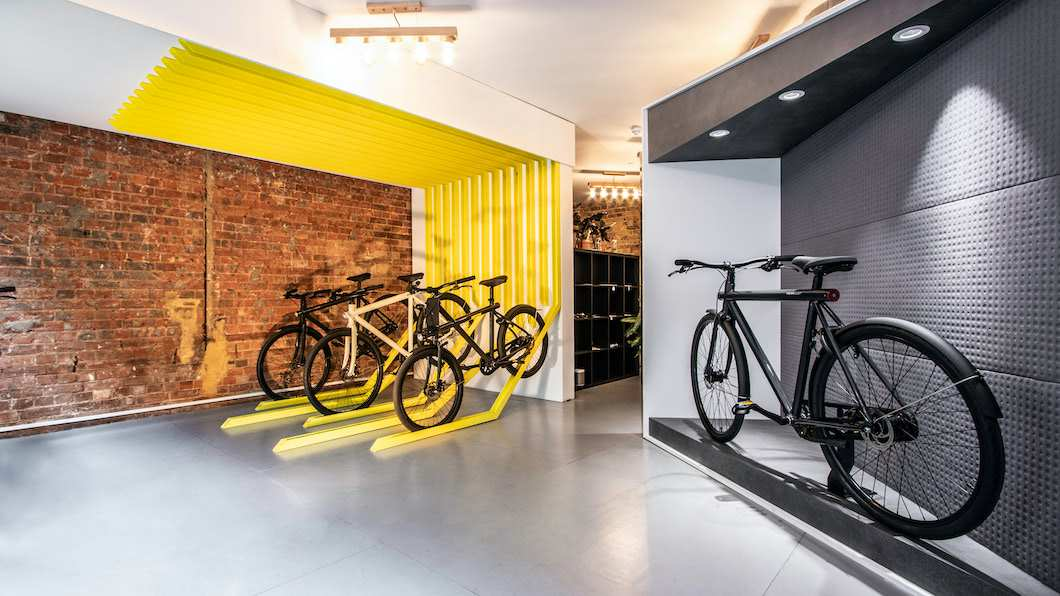 VanMoof Pop-up Store Dublin