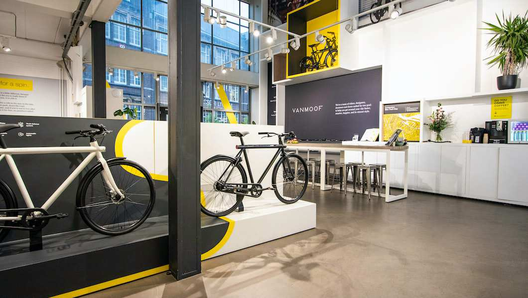 VanMoof Popup Store The Hague