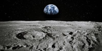 The Microscopic Man on the Moon