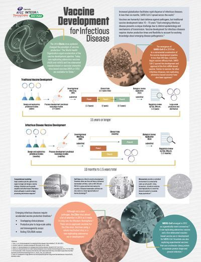 Infographic: Vaccine development for infectious disease
