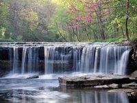 waterfall Columbus Indiana