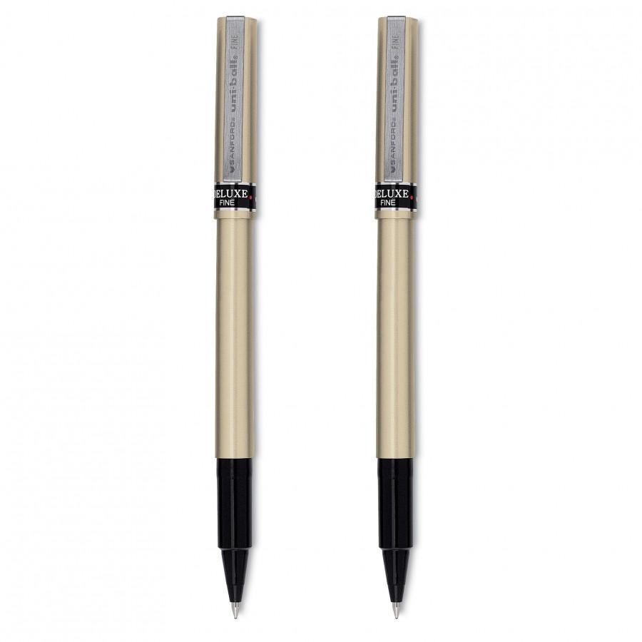 uni-ball Deluxe Fine Roller Ball Pens
