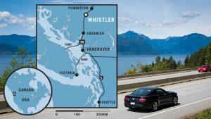 maps to Whistler