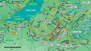 Whistler Valley Map