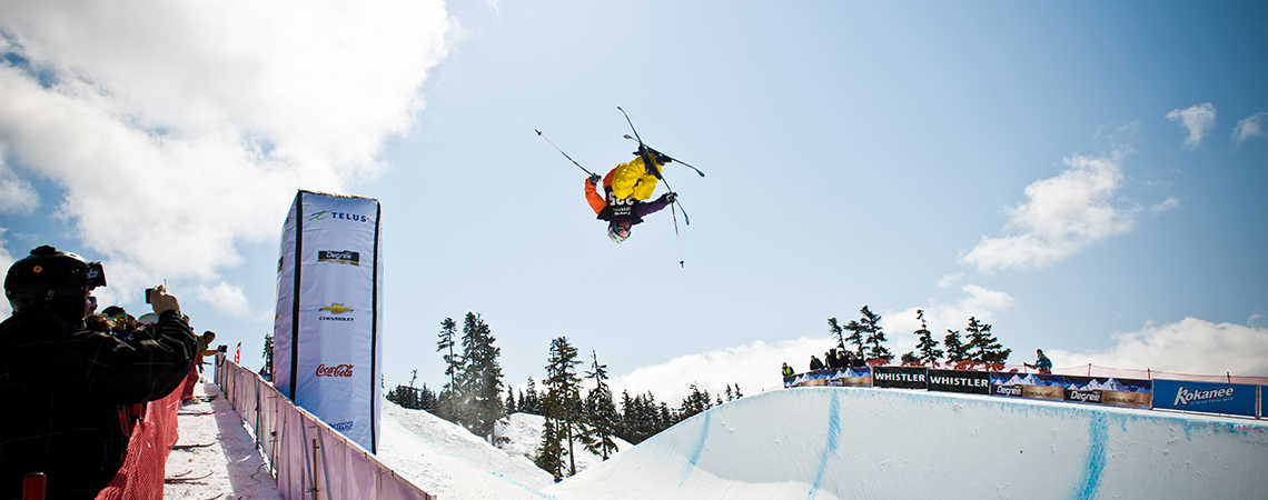 Final weekend of the World Ski & Snowboard Festival!