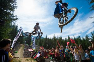 Official Whip Off on Crab Apple Hits in the Whistler Bike Park