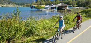 Biking Whistler Valley Trail