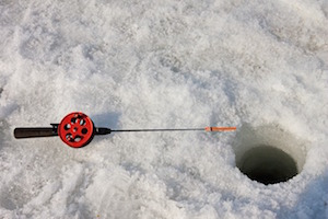 Ice Fishing in Pemberton