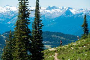 Alpine hiking on Blackcomb