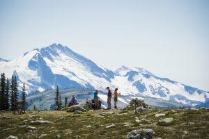 Summer hiking on Blackcomb