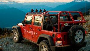 Jeep Tours Blackcomb