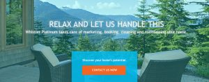 Property Mangement Services Whistler