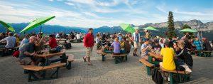 Mountain Top Dining Whistler