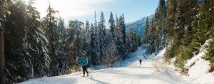 cross country skiing Whistler