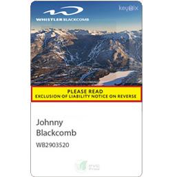 RFID ski pass
