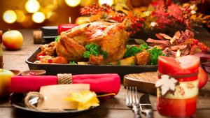 turkey christmas dinner