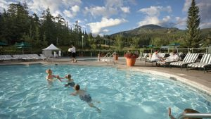Fairmont Chateau Outdoor Year Round Mountainside Swimming Pool