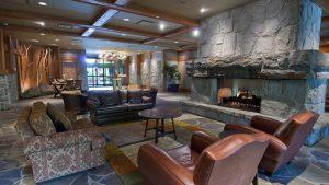 First Tracks Lodge Lobby